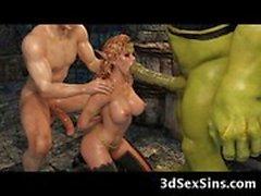 Ogre 3D do Fucks de da princesa Elfo !