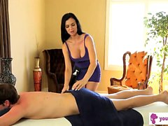 Jasmine Jae getting her green - your-cams