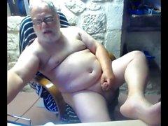 webcam dede boşalmak