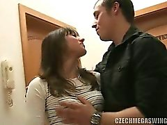 two horny babes fuck hard at czech swingers party