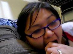 Girlfriend Blowing Her Boyfriend 21