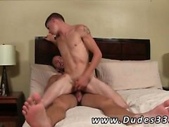 Tied up in underwear twink and senior gay men into diaper se