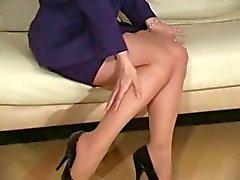 Nina Hartley meia-calça divertida D10