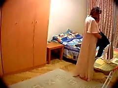Hidden cam in wife's room