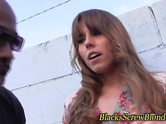 Amber Chase blows black