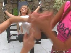 Czech Ticklish Girls - Girl's vengeance for Martina