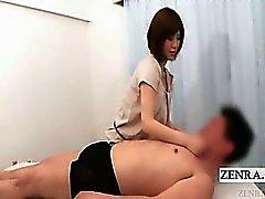 Субтитрами японского Женское господства со непристойного футджоб