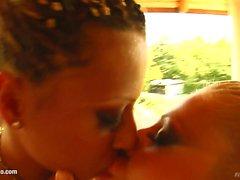 Clara G - Black Diamond lesbian fisting by FistFlush