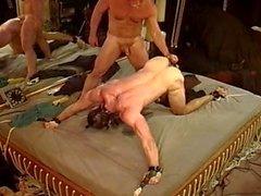 CBT Predicament Bondage...If you move it hurts more.