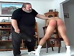 Ass finger spanked my daddy