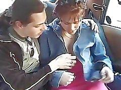 Rücksitz Taxi Jugend Geschlecht