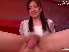 Giapponese amante del sesso orale