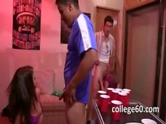 College groupsex fuck at the Party