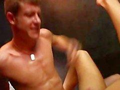 horny english sauna fucking BB