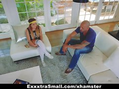 ExxxtraSmall - Amateur Petite Teen Fucked By Two Huge Cocks