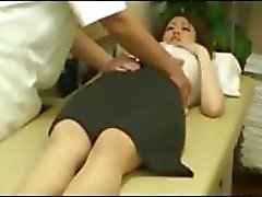 amateur OL seduced by masseur