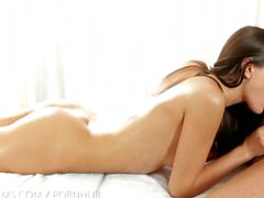Nubile Films - Erotic massage leads to messy facial