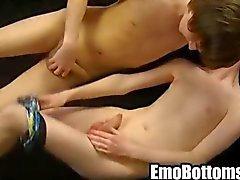 Jovencitos Sin emotivo a Elliot Hawke obtener jodido fuerza por vía anal