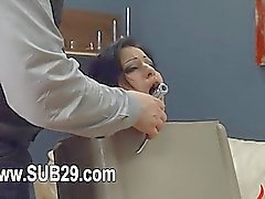 BDSM sex in analland with slut fucked delightfully