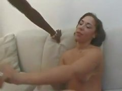 Sexy Big Butt Redbone Fucked On Couch