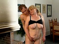 Luscious mature lady with great oral skills Michelle gets banged hard