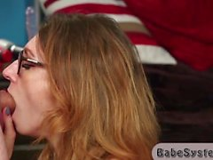 Sexy teacher plays with her student