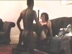 Wife fucks her black bf