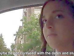 Esposa adolescente lindo de ser de Amirah Adara cogió y traga cum