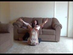 White chick dominates Ebony chick