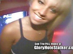 Gloryhole Girl Jasmine Tame Sucks and Fucks