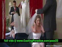 Kayla Paige atemberaubenden Braut Große Brüste