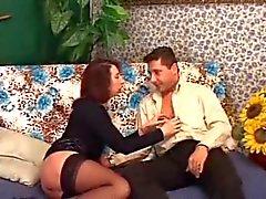 Hot Spanish Milf Take deep in her Ass