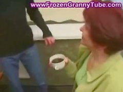 Mature mom seduced by her son