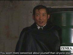 Subtitled Japan AV stars discover delusional vampire
