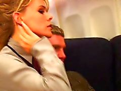 Bisexual Orgy at 35,000 feet