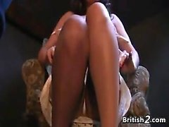 British Whore Fingering Her Loose Pussy