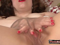 Busty wife homemade blowjob