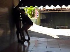 Simatra Shemalicious Fuck on Motel Favelas *