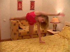 Flexible Russian teen
