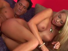 Hot Blonde Shawna Lenee Rides A Dick