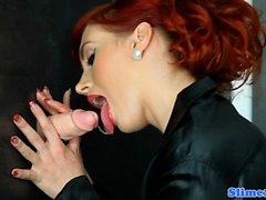 Redhead bukkake euro tugging gloryhole cock