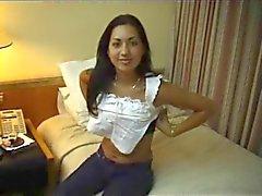Argentine babe Amira creampied