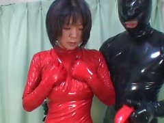 Japanese Latex Catsuit 41