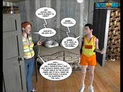 3D Comic: The Chaperone. Episode 1