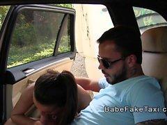 gf trampas tipo con conductor de taxi falso caliente