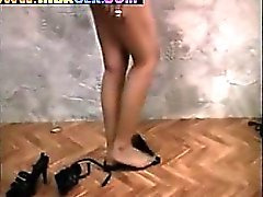 Indian Girl Striping And Teasing
