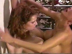Big boobs lesbian cougar pussy licked