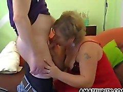 Femme amateur de potelée et les aux gros seins hardcore action faite maison