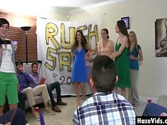 Rush girls put on sale in sorority club