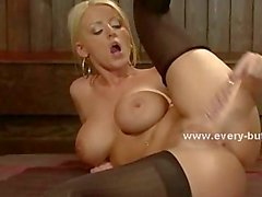Cute hot perky blonde ass fucking